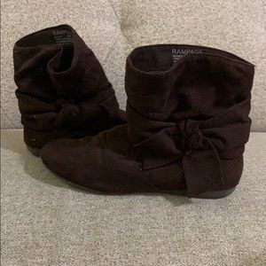 Rampage Slouchy Knot Boots